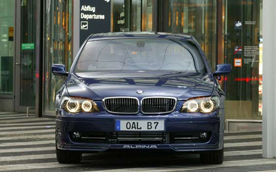 BMW Alpina B7 Super Charge 8