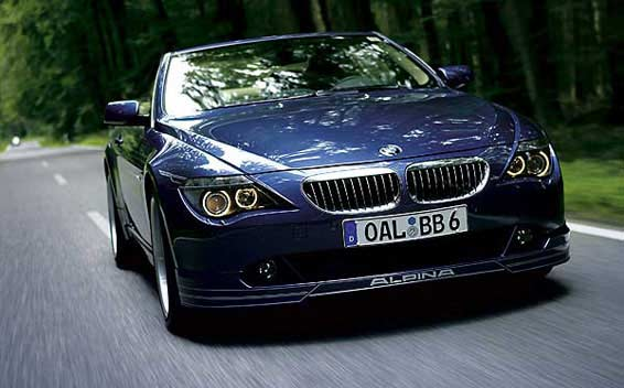 BMW Alpina B6 Super Charge 4
