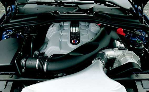 BMW Alpina B6 Super Charge 8