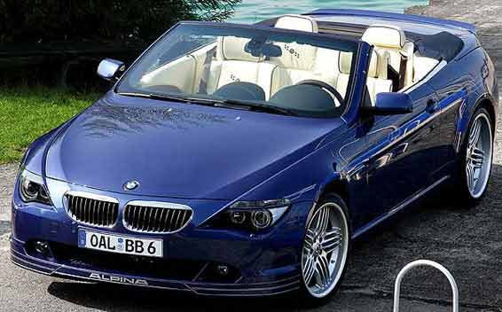 BMW Alpina B6 Super Charge 9