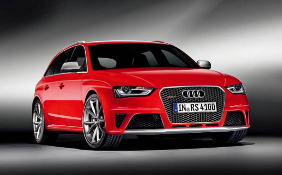 Audi RS4 RS4 AVANT LHD 4WD AT 4.2 (2013)