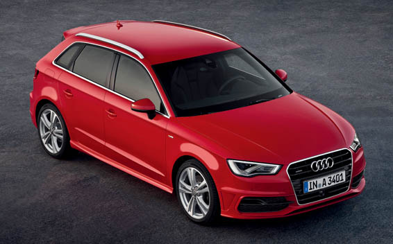 Audi A3 SPORTBACK 1.4 TFSI CYLINDER ON DEMAND RHD AT 1.4 (2014)