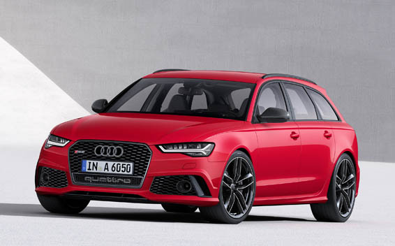 Audi RS6 RS6 AVANT RHD 4WD AT 4.0 (2015)