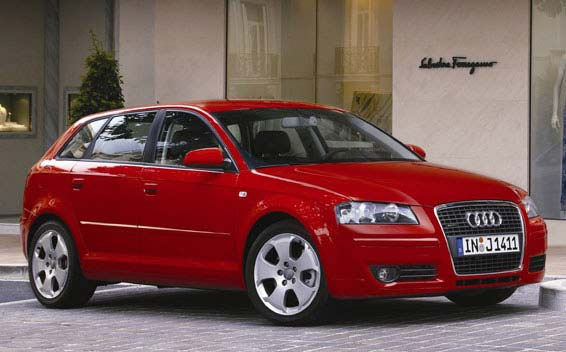 Audi A3 SPORTBACK ATTRACTION RHD AT 1.6 (2007)