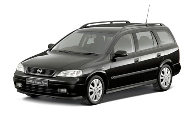 Opel Astra WAGON SPORT RHD AT 2.2 (2002)