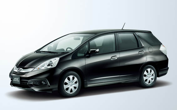 Honda Fit shuttle 1
