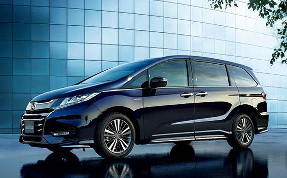 Honda Odyssey Hybrid 1