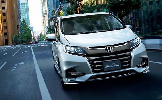Honda Odyssey Hybrid 3