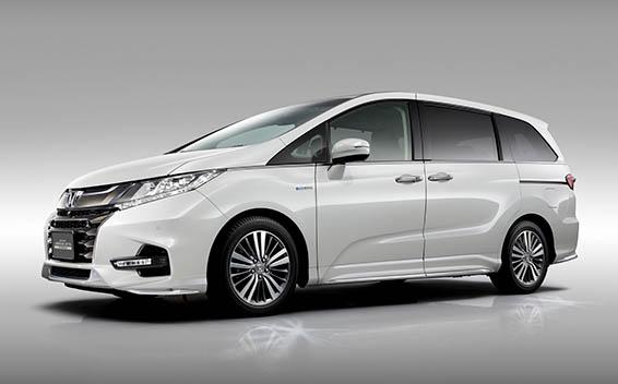 Honda Odyssey Hybrid 4