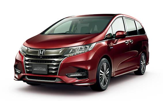 Honda Odyssey Hybrid 6
