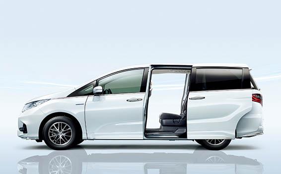 Honda Odyssey Hybrid 8