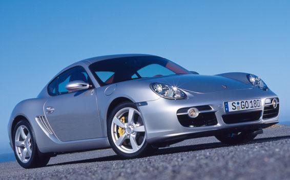 Porsche Cayman CAYMAN S LHD AT 3.4 (2005)