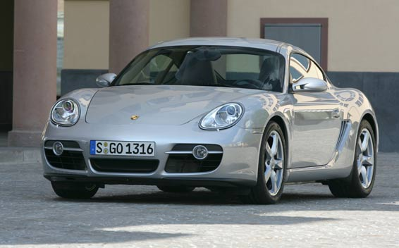 Porsche Cayman CAYMAN S RHD MT 3.4 (2007)