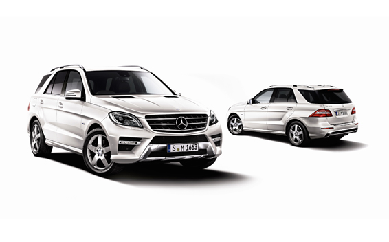 Mercedes-Benz M-Class 3
