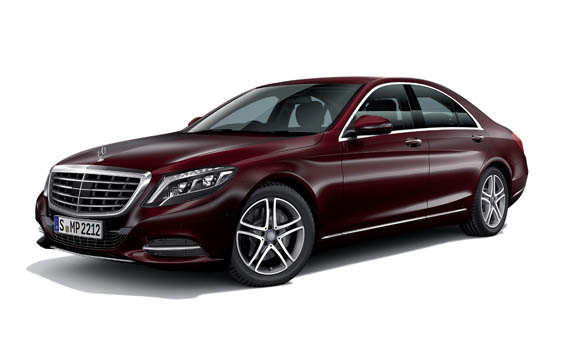 Mercedes-Benz S-Class S550 LONG RHD AT 4.7 (2013)