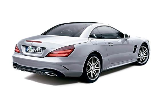 Mercedes-Benz SL-Class 4