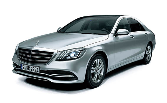 Mercedes-Benz S-Class S450 MODEL WITH ISG RHD AT 3.0 (2018)
