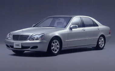 Mercedes-Benz S-Class S350 LHD AT 3.7 (2002)