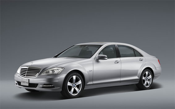Mercedes-Benz S-Class S550 LONG RHD AT 5.5 (2009)