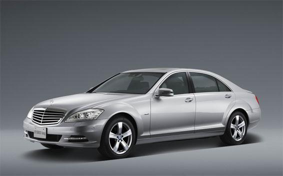 Mercedes-Benz S-Class S550 BLUE EFFICIENCY LONG RHD AT 4.7 (2011)