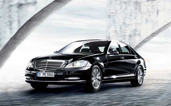 Mercedes-Benz S-Class S550 BLUE EFFICIENCY RHD AT 4.7 (2011)