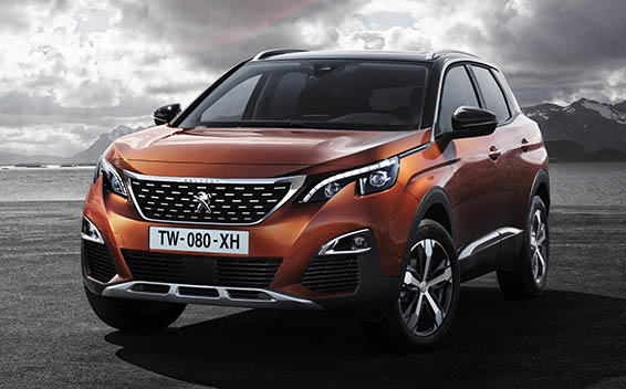 Peugeot 3008 GT LINE  DEBUT EDITION RHD EAT 1.6 (2017)