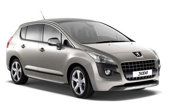 Peugeot 3008 GRIFFE RHD AT 1.6 (2010)