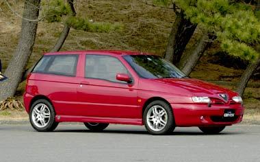 Alfa Romeo 145 QUADRIFOGLIO LHD MT (2001)