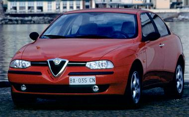 Alfa Romeo 156 2.0TWINSPARK RHD MT (2001)