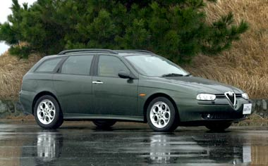 Alfa Romeo Sportwagon 2.0 TS SELESPEED RHD SELE (2000)