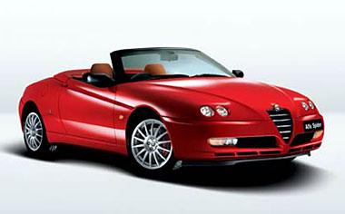 Alfa Romeo Spider 3.2 V6 24V RHD MT 3.2 (2003)