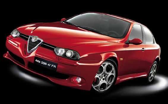 Alfa Romeo 156 TI 2.0JTS NAVI VIRSION RHD MT 2.0 (2004)