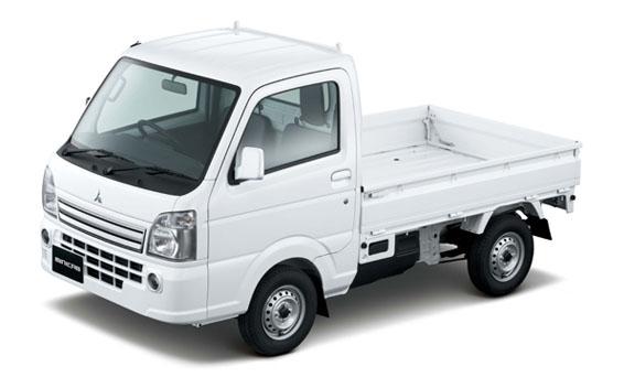 Mitsubishi Minicab Truck MINORI 4WD MT 0.66 (2014)