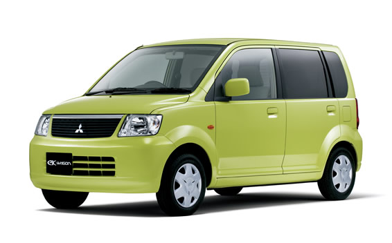Mitsubishi eK Wagon BLOOM EDITION AT 0.66 (2005)