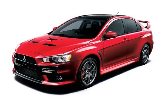 Mitsubishi Lancer Evolution X 21