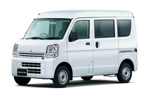 Mitsubishi Minicab Van 1