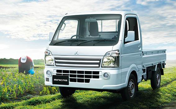 Mitsubishi Minicab Truck 1