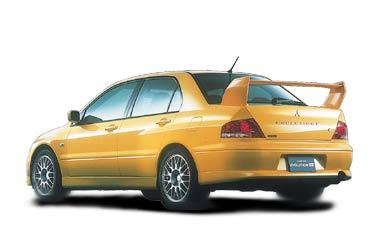 Mitsubishi Lancer Evolution VII 2