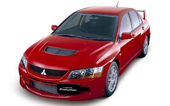 Mitsubishi Lancer Evolution IX 1