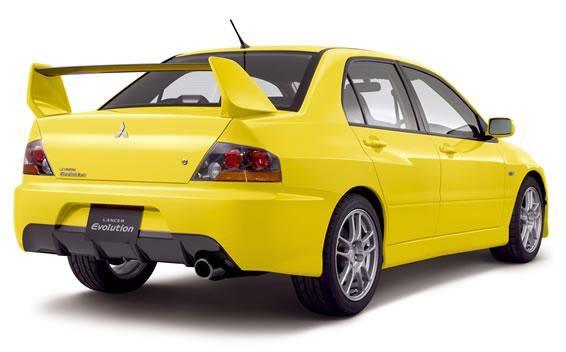 Mitsubishi Lancer Evolution IX 2