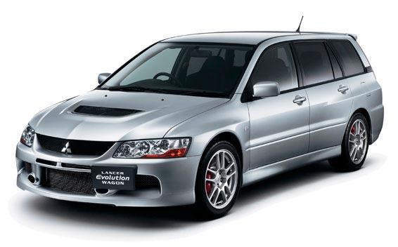 Mitsubishi Lancer Evolution Wagon MR GT 4WD MT 2.0 (2006)