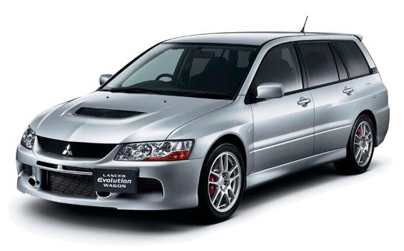 Mitsubishi Lancer Evolution Wagon MR 1