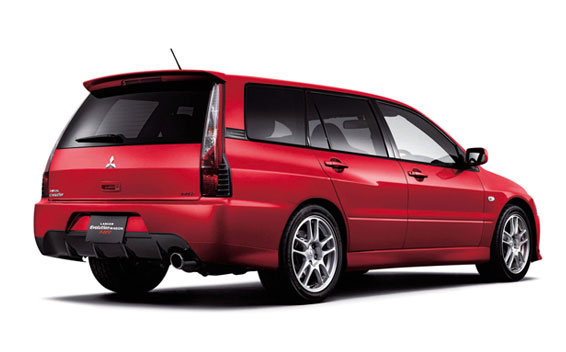Mitsubishi Lancer Evolution Wagon MR 2