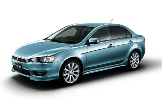 Mitsubishi Galant Fortis SUPER EXCEED 4WD CVT 2.0 (2007)