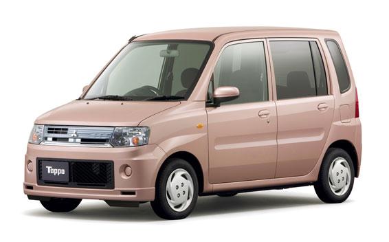 Mitsubishi Toppo ROADEST G 4WD AT 0.66 (2009)