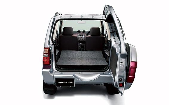 Mitsubishi Pajero Mini 11