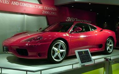 Ferrari 360 Modena F1 RHD AT 3.6 (1999)