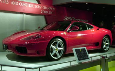 Ferrari 360 Modena F1 RHD AT 3.6 (2005)
