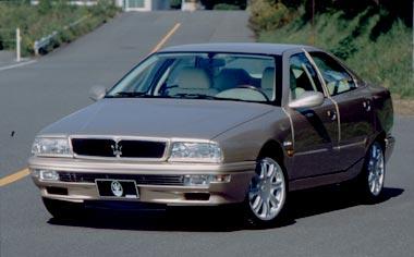 Maserati Quattroporte EVOLUZIONEV8CORNES SERIE SPECIALEII AT3.2 (2000)