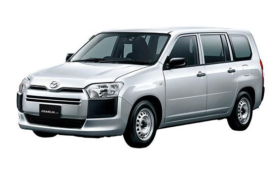 Mazda Familia Van 1